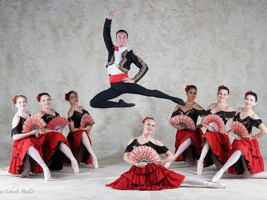 """The Nutcracker"" the Spanish Dance"