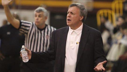 Mount Vernon coach Bob Cimmino, whose team will appear