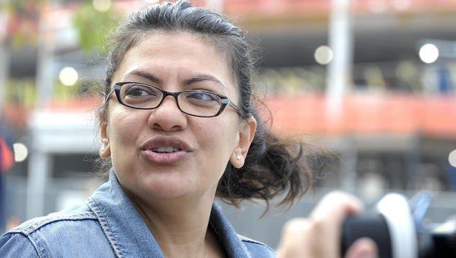 Former state Rep. Rashida Tlaib