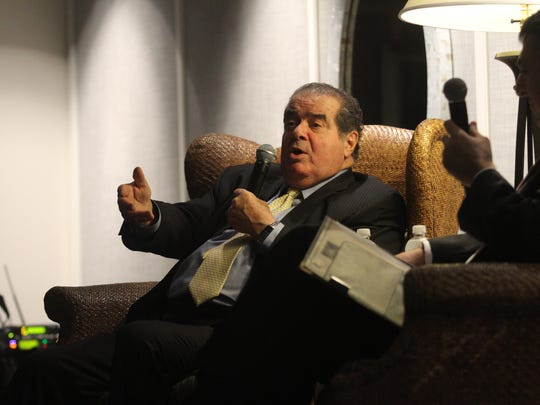 Supreme Court Justice Antonin Scalia is honored at