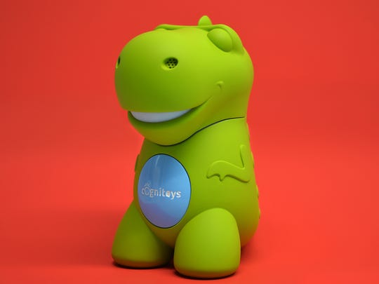 CogniToys, a talking dinosaur powered by IBM's Watson,