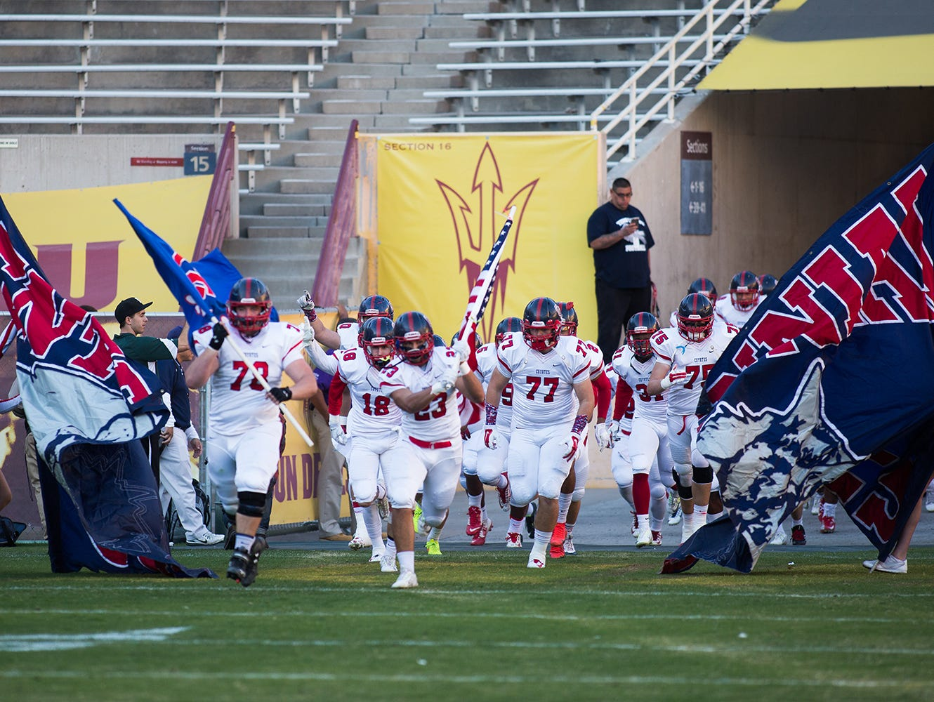 Harold Slemmer came up with the idea of having the Classic the week after the championship games when he saw that Division I Peoria Centennial will face Division II Scottsdale Saguaro this fall in the regular season.