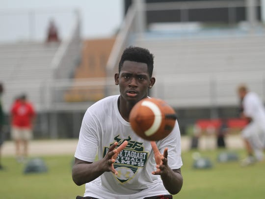 A satellite football camp for USF was held on Thursday at North Fort Myers High School.
