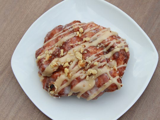 Maple Walnut Fritter.