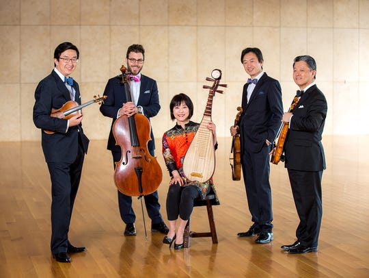 Wu Man and the Shanghai Quartet play in concert tonight