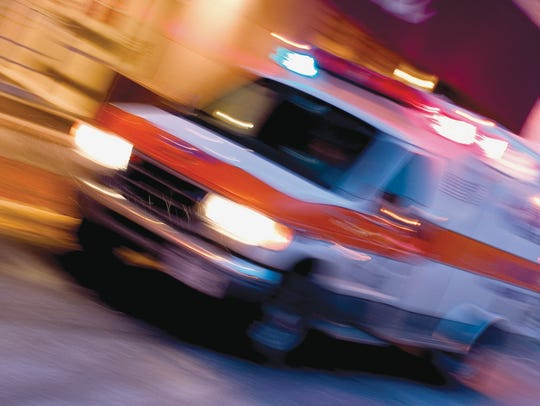 A bicyclist was taken to Sacred Heart Hospital in critical condition Monday morning.