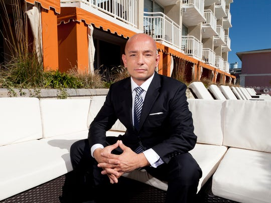 Anthony Melchiorri, host of Travel Channel's hotel