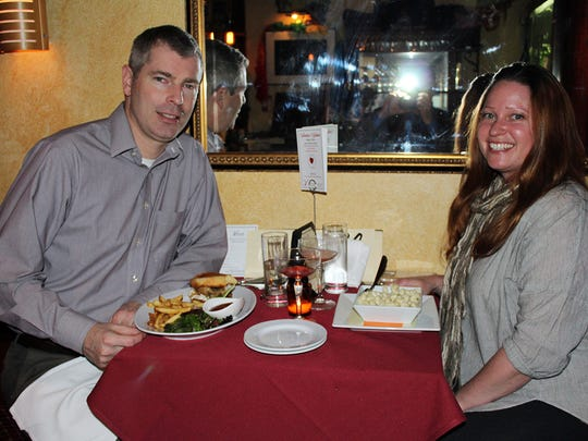 Dawn Taylor and Aaron Greene of Somerville.