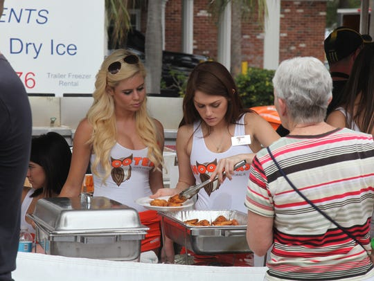 Hooters returns to Four Freedoms Park at Taste of the Cape on Sunday.