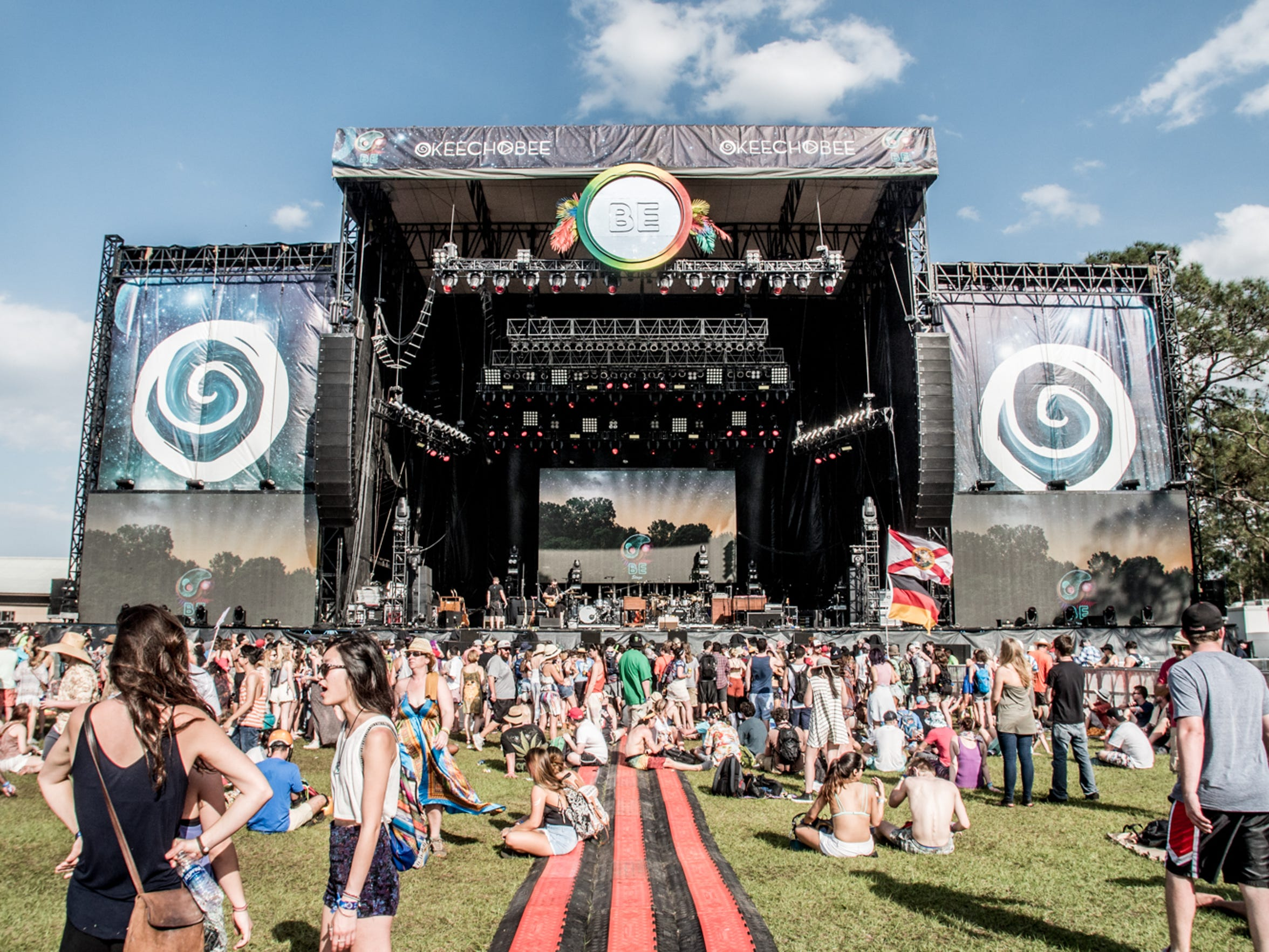 Okeechobee Music and Arts Festival served as Florida's first 24-hour music festival.