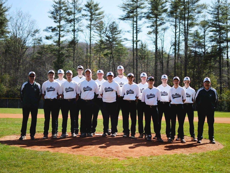 The Blue Ridge baseball team.
