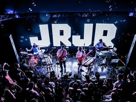 JR JR, one of the acts to play last year, performed at Club Downunder in the Oglesby Union on Oct. 26., 2015.