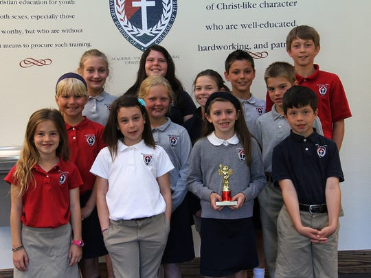S. Truett Cathy Lower School students at College of