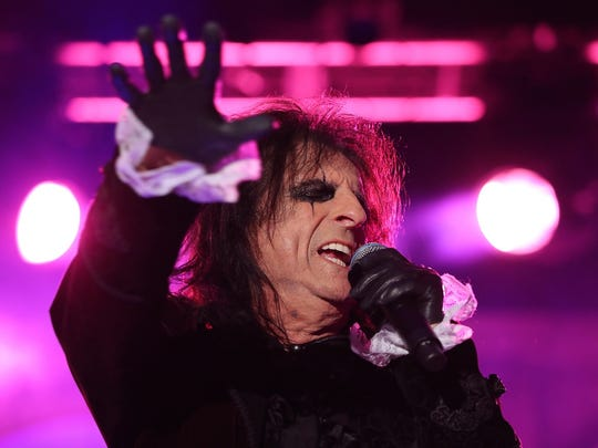 Alice Cooper will perform Oct. 5 at Old National Centre.