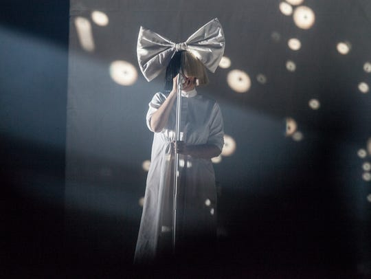 Sia performs at Talking Stick Resort Arena in Phoenix