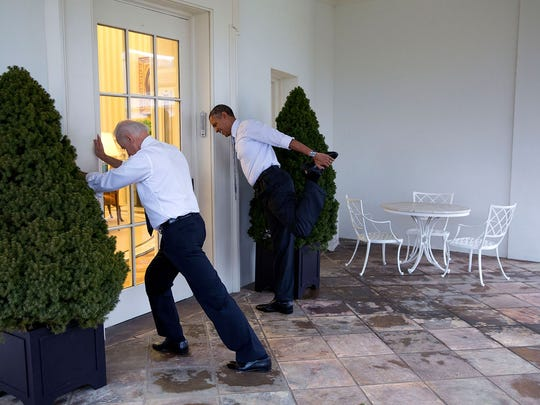 The News Journal invites readers to write their own Vice President Joe Biden caption for this photo. Send yours to rcormier@delawareonline.com,