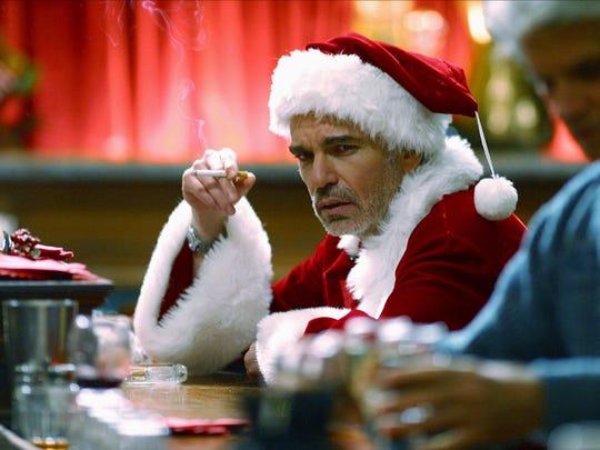 "Billy Bob Thornton craves more than eggnog in ""Bad Santa 2."""