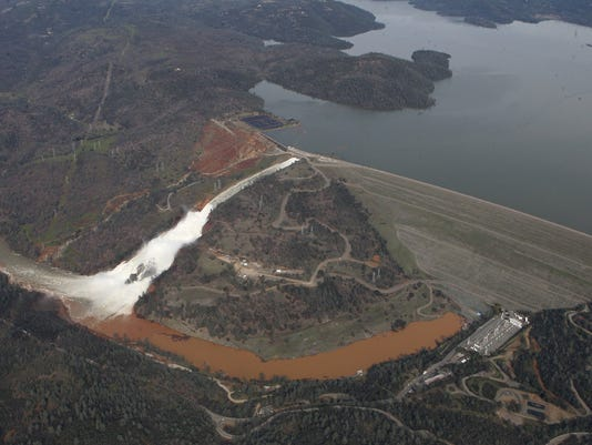 Oroville Dam unprepared for climate change, critics warned