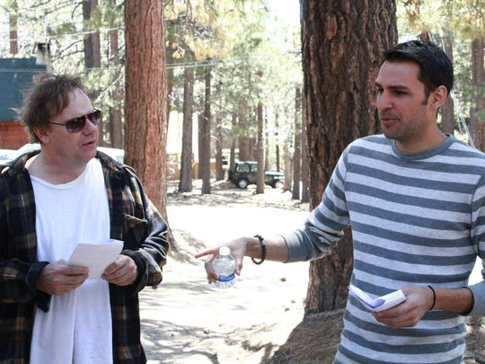 "Kevin Farley, left, with ""The Bigfoot Project"" director and writer Ricardo Herrera."