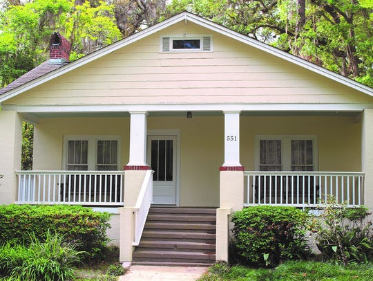 Myers Parks home built in 1941 and represents the first