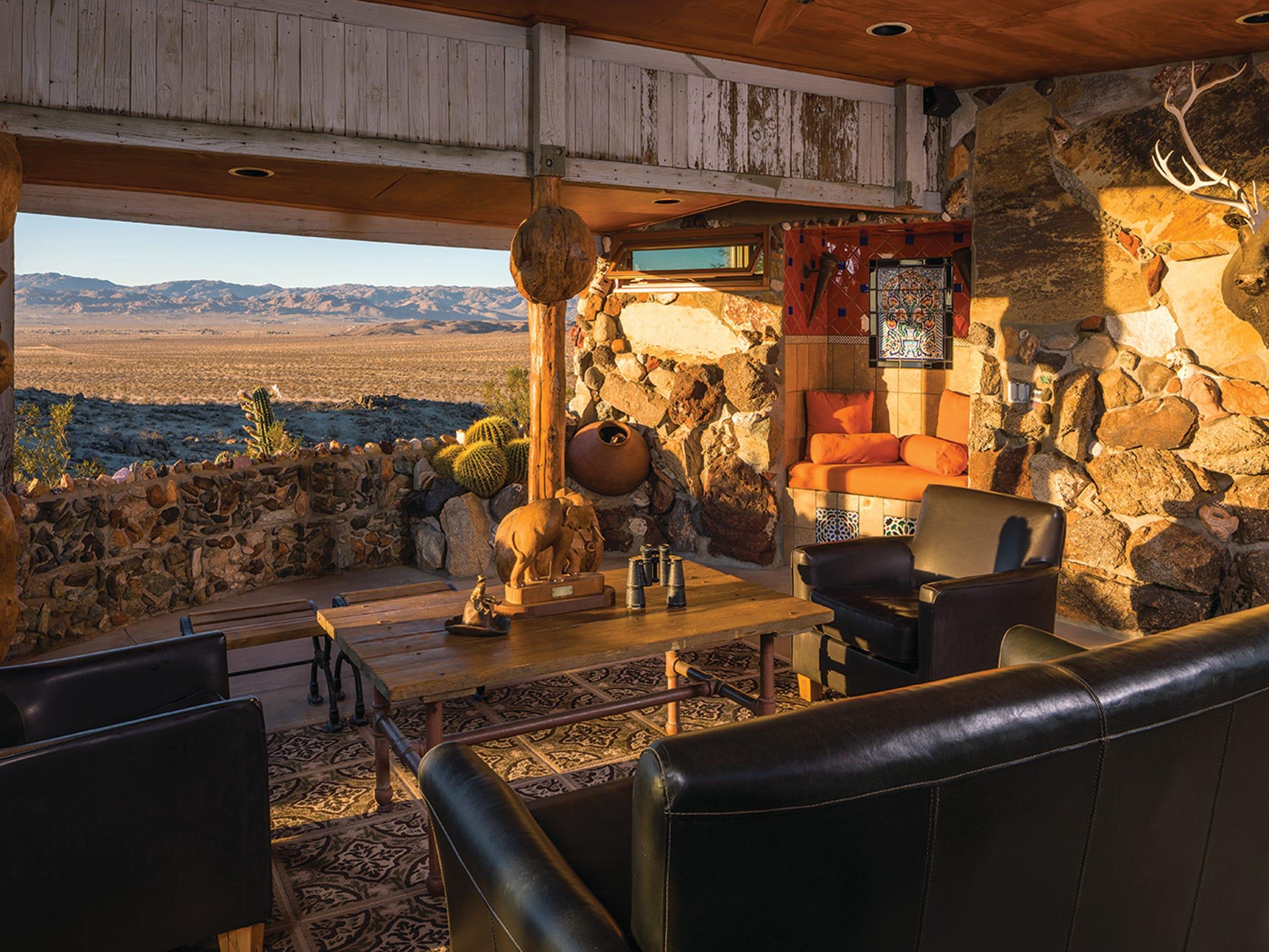 Mojave Rock Ranch in Joshua Tree.