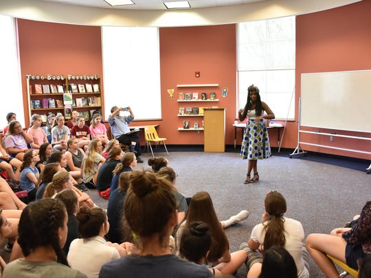 Sandra Uwiringiyimana at Our Lady of Mercy School for