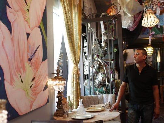 Armando Mejorado, owner of Armando's Gallery in downtown,