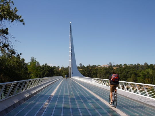 The Sundial Bridge is included in the new Redding Cultural District that was announced by the California Arts Council.