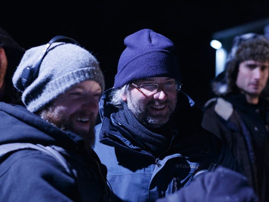 From left to right: Director Brian Klemesrud, Cinematographer Jim Timperman, Actor Andy Ahrens.