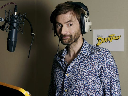 "David Tennant voices Scrooge McDuck in Disney's ""DuckTales."""