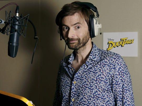 "David Tennant voices Scrooge McDuck in Disney's ""DuckTales."""