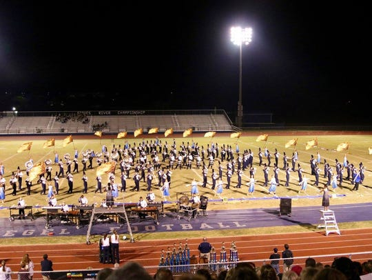 The 3rd annual Stones River Championship band competition