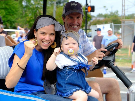 Catch all of the MTSU homecoming parade action along East Main Street starting at 10 a.m. Saturday.