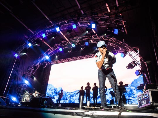 Chance The Rapper performs at day one of the Lost Lake