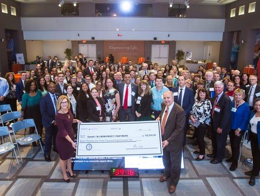 Sanofi donates more than $700k PHOTO CAPTION