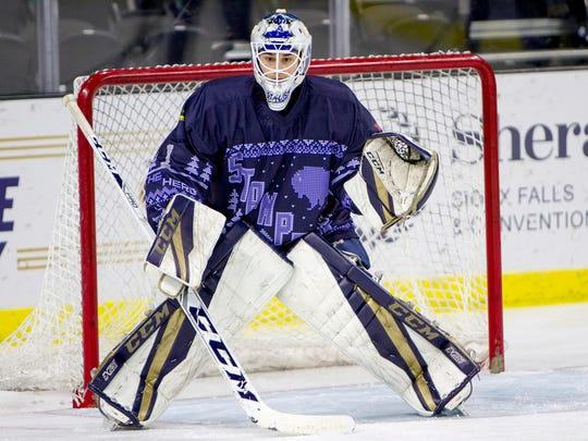 Jaxson Stauber has been the USHL's best goalie during the 2019 playoffs