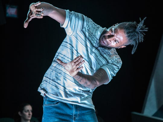 Landon E. Horton stars as Grif in the Know Theatre's