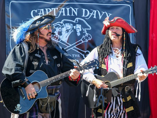 The Gulf Coast Renaissance Faire and Pirate Festival will return this weekend to the Santa Rosa County Fairgrounds in Milton.