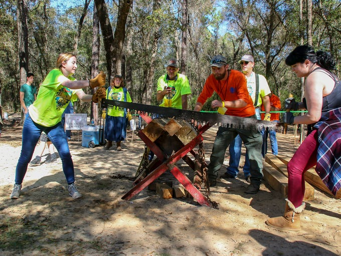 The 30th annual Lumberjack Festival at Pensacola State