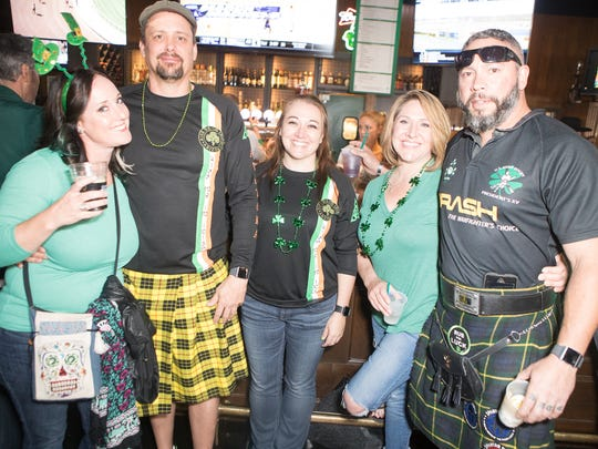 Padre Murphy's was a family-friendly St. Patrick's day party that extended into the bar's parking lot on Saturday, March. 17, 2018.