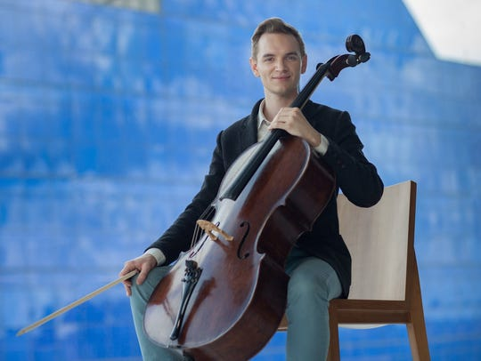 Cellist Coleman Itzkoff, a rising star who is the son