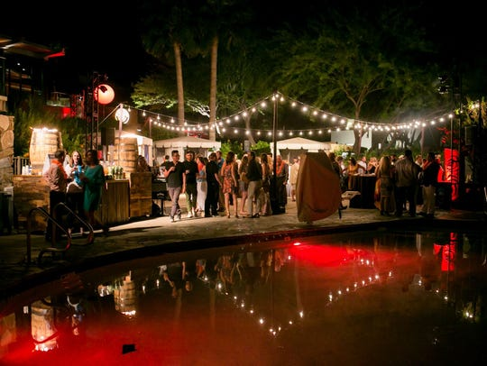The Sanctuary on Camelback Resort & Spa hosts the Nirvana Food & Wine Festival in April.