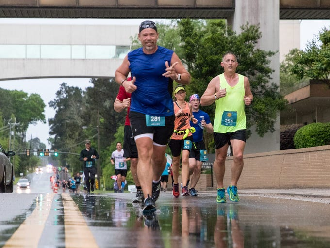 Runners and supporters participate in Hattiesburg Clinic's