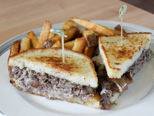 The Prime Rib Grilled Cheese from The Fletcher Kitchen
