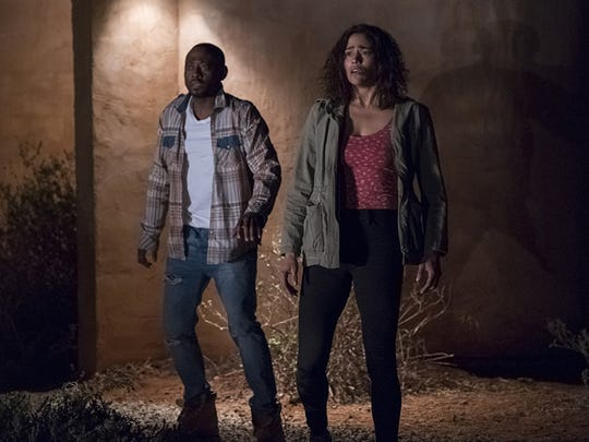 """Paula Patton and Omar Epps star in """"Traffik,"""" playing"""