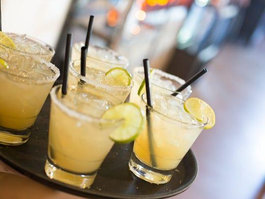 Margaritas at Barrio Queen.