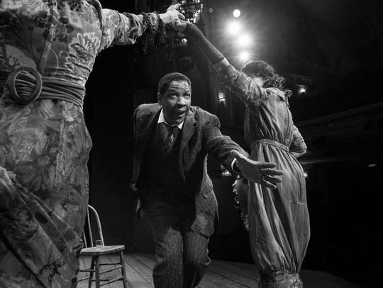 "Denzel Washington in ""The Iceman Cometh."""