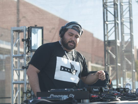 Deorro kicked off pool party season at Talking Stick Resort on Saturday, May. 5, 2018 in Scottsdale.