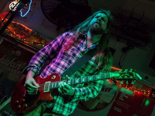 Tyler Mac Band performs at the Sandshaker Lounge on