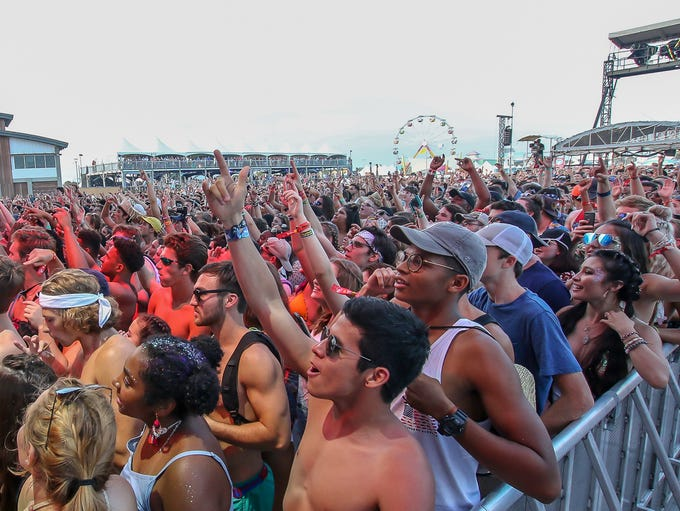 Day two of Hangout Music Festival in Gulf Shores on